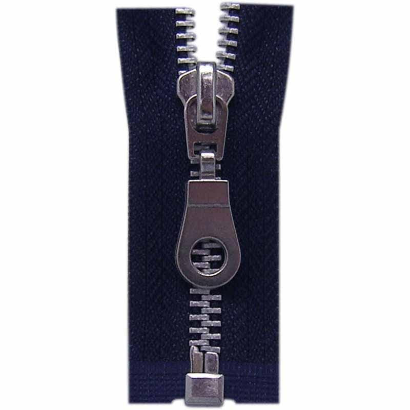 Costumakers Zipper COSTUMAKERS Outerwear One Way Separating Zipper 55cm (22″) - Navy - 1743
