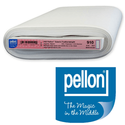"Pellon 910-60 Sew in Non-Woven Featherweight 60"" wide by the yard - The Artisans Gifting Company"