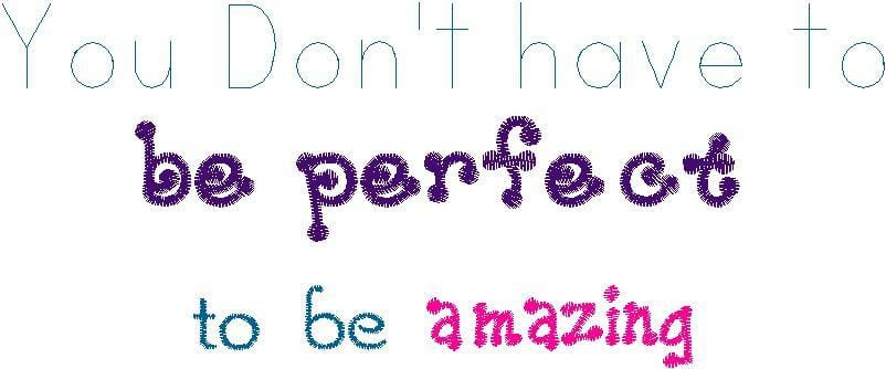 Perfection Machine Embroidery Design - The Artisans Gifting Company