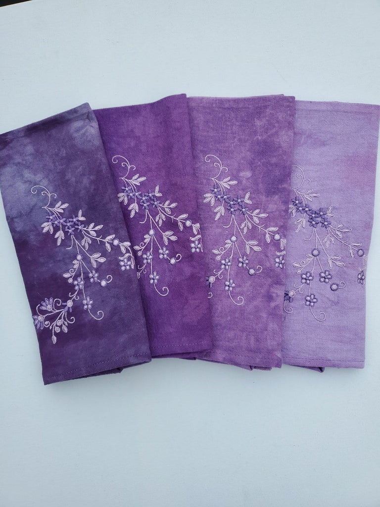 Embroidered Napkin Set - The Artisans Gifting Company /Quilts