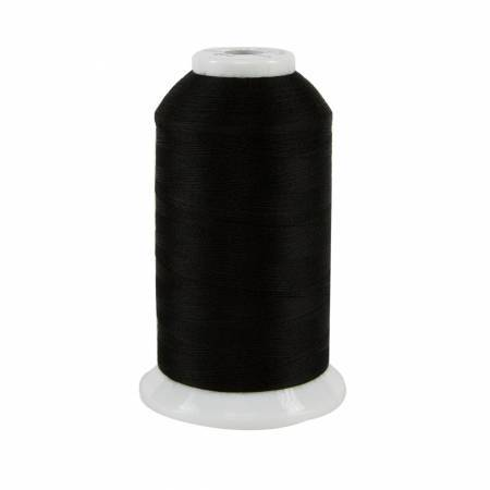So Fine Polyester Thread 3-ply 50 weight 3280 yards Black - The Artisans Gifting Company