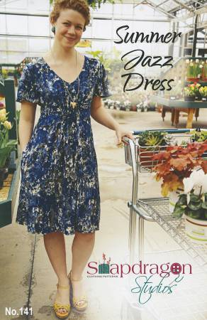Summer Jazz Dress Sewing Pattern - The Artisans Gifting Company