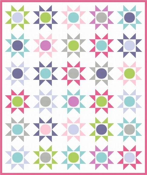 Free Downloadable Quilt Pattern - Stars on Parade by Robert Kaufman - The Artisans Gifting Company