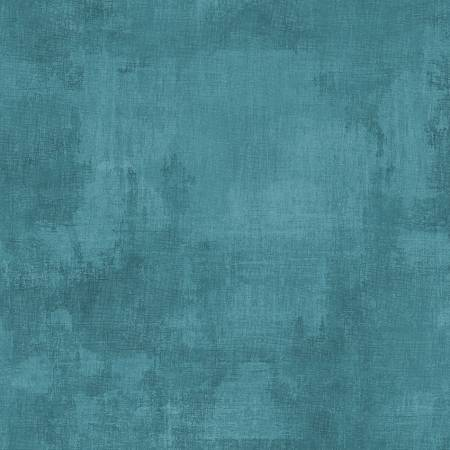 Willmington Prints Fabric by the Metre Teal Dry Brush Fabric by the Metre