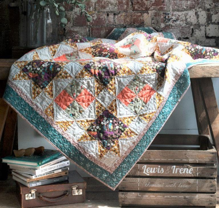 The Hedgerow Free Downloadable Quilt Pattern - The Artisans Gifting Company