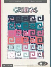 Greekas by AGF Downloadable Patterns - The Artisans Gifting Company