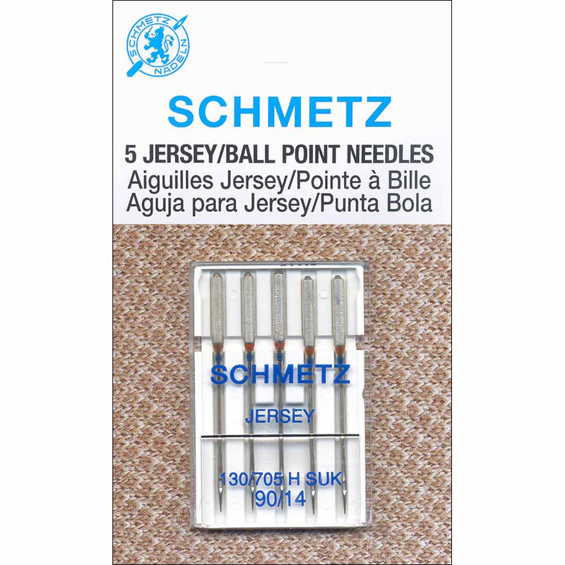 Schmetz Sewing Needles SCHMETZ Ball Point Jersey Sewing Machine Needles