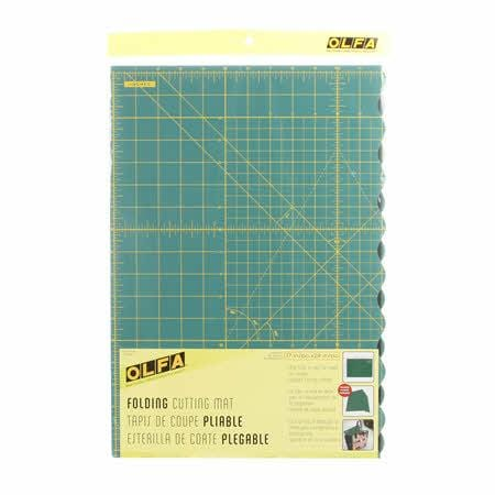 OLFA Folding Cutting Mat 17in x 24in - The Artisans Gifting Company