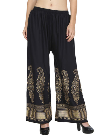 Skyline Trading Relaxed Women's Black Trousers