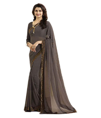 Kalapy Fashion Multicoloured Georgette Saree