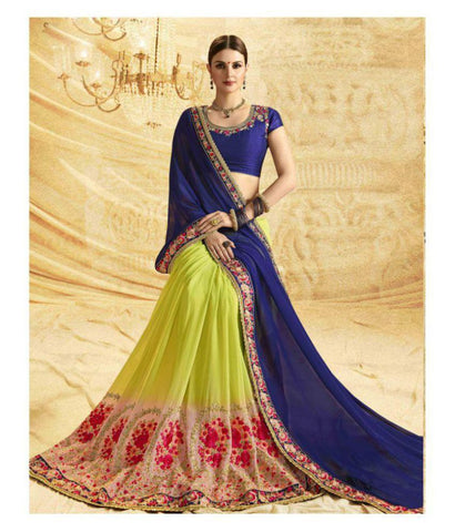SareeShop Designer SareeS Multicoloured Georgette Saree