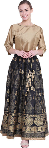 Shree Women Top and Skirt Set