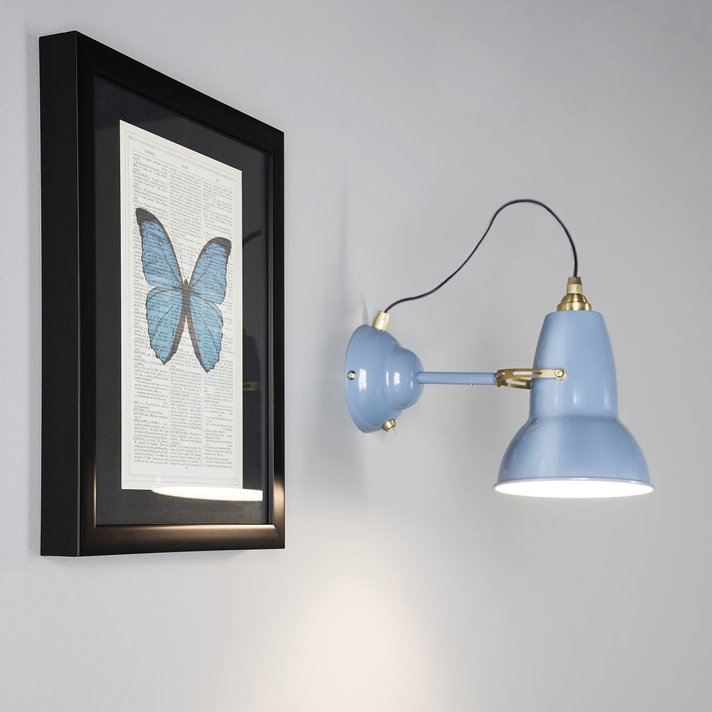 Wall Mounted Brass Lamps : Original 1227? Brass Wall Light Modern Wall Lighting Anglepoise?