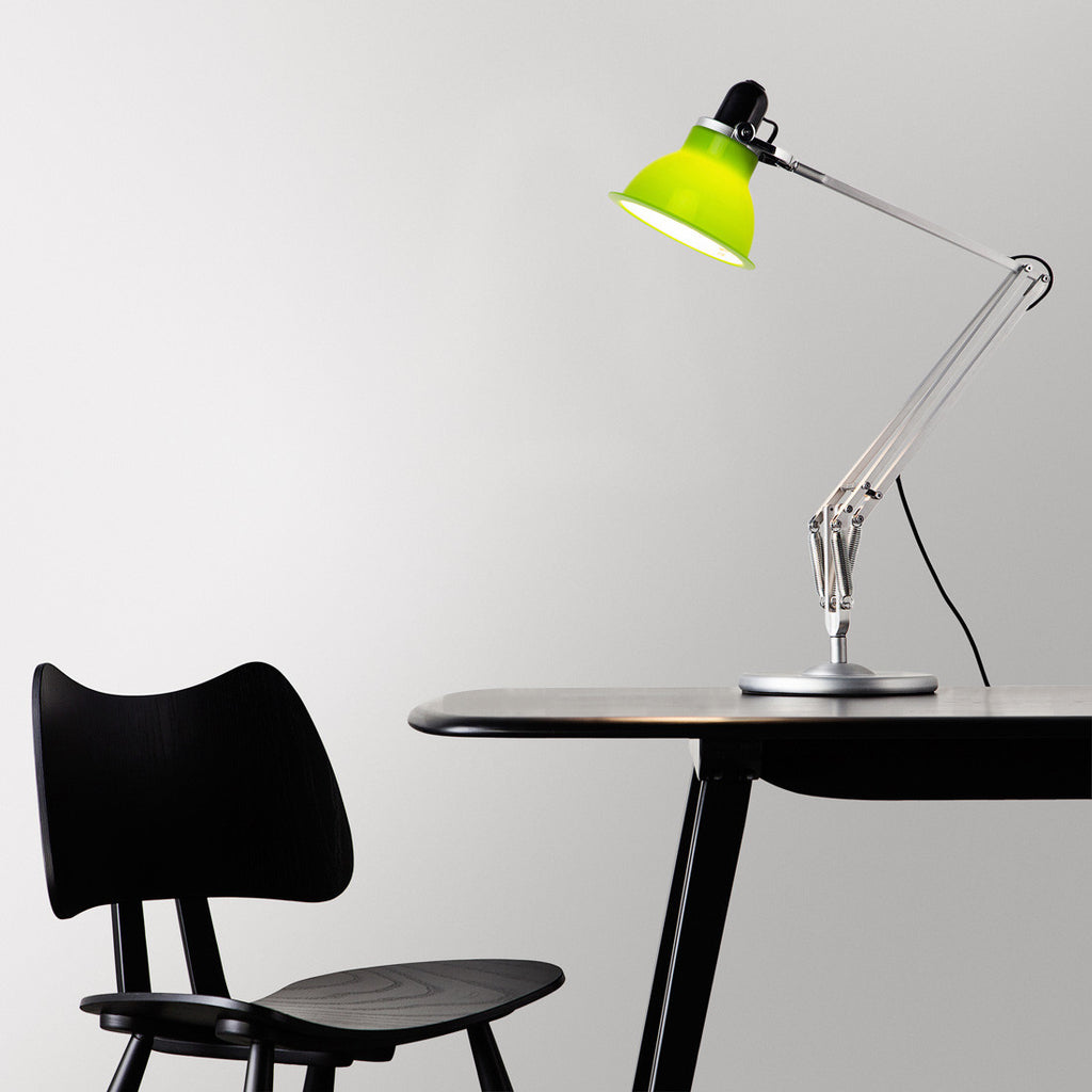 Type 1228 desk lamp lime green anglepoise type 1228 desk lamp lime green mozeypictures Choice Image