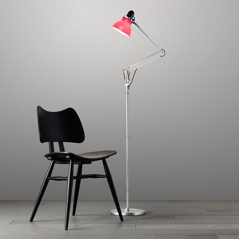 Anglepoise Type 1228 Floor Lamp Carmine Red 2