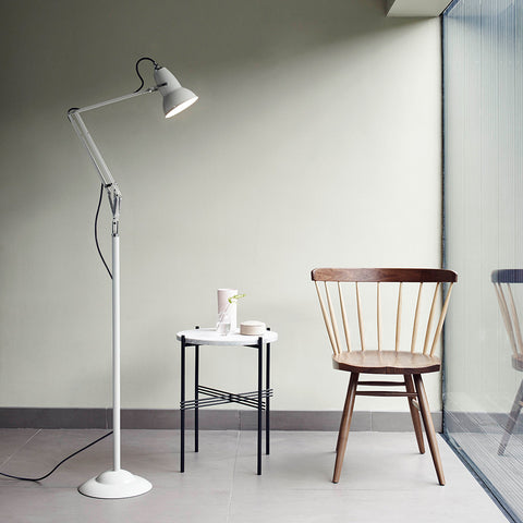 Anglepoise Original 1227 Floor Lamp Linen White 2