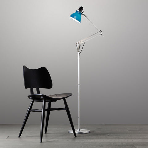 Anglepoise Type 1228 Floor Lamp Minerva Blue 2