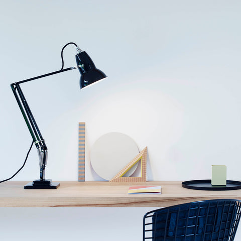 Anglepoise Original 1227 Desk Lamp Jet Black 2