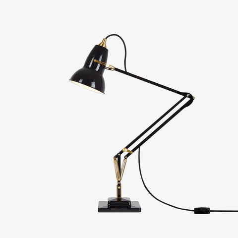 Anglepoise Original 1227 Brass Desk Lamp Deep Slate 1