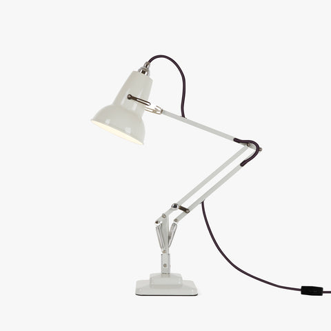 Anglepoise Original 1227 Mini Desk Lamp Linen White