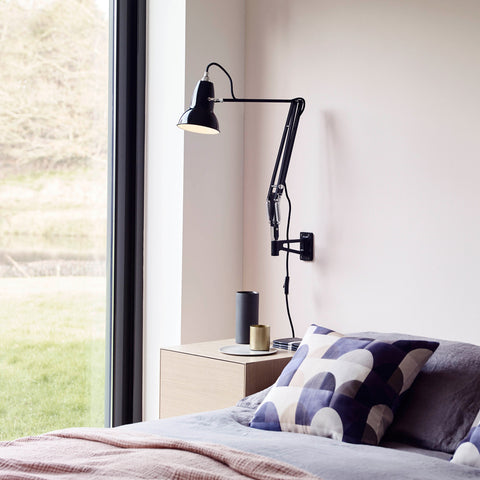 Anglepoise Original 1227 Wall Mounted Lamp Jet Black
