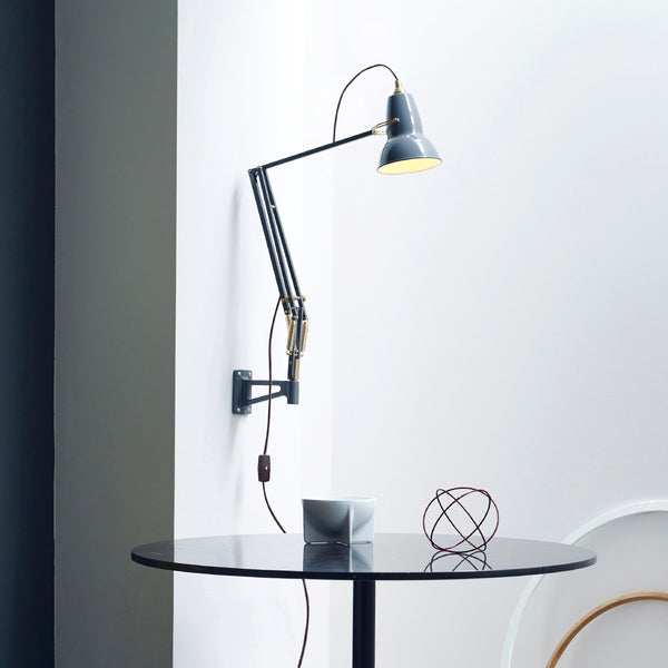 Wall Mounted Movable Lamp : Original 1227 Brass Wall Mounted Lamp ? Anglepoise
