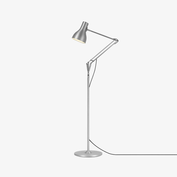 Anglepoise Type 75 Floor Lamp Brushed Aluminum