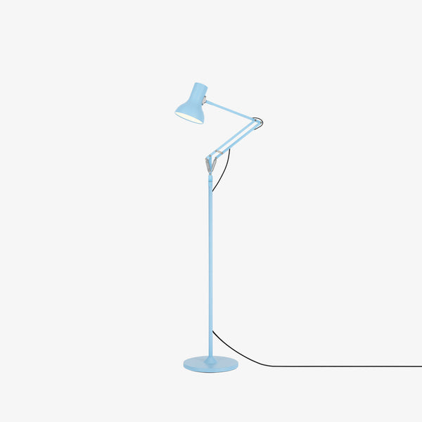 Anglepoise Type 75 Mini Floor Lamp Powder Blue