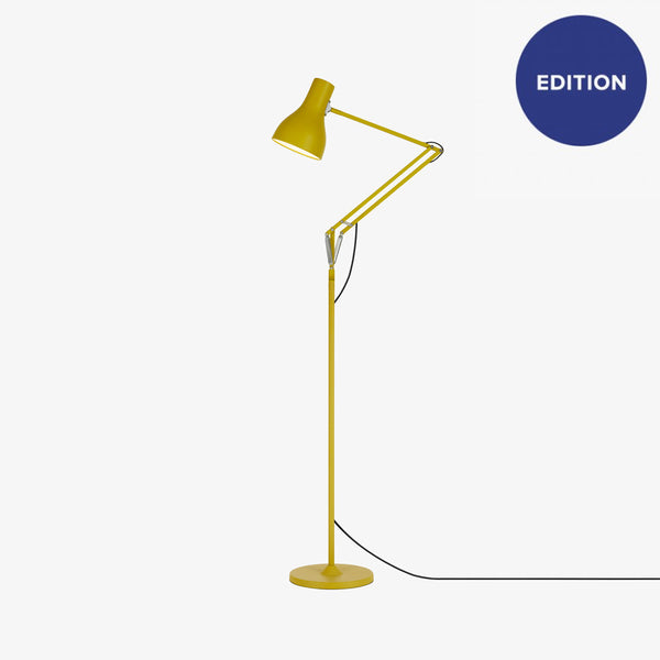 Anglepoise Type 75 Floor Lamp - Margaret Howell - Yellow Ochre Edition