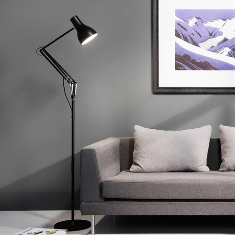 Anglepoise Type 75 Floor Lamp Jet Black 2