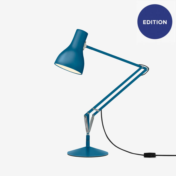 Anglepoise Type 75 Desk Lamp - Margaret Howell - Saxon Blue