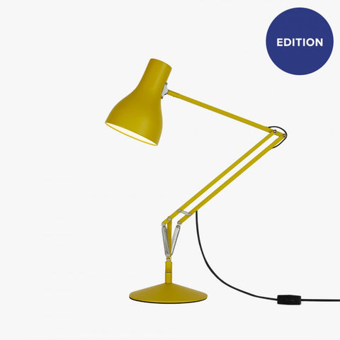 Anglepoise Type 75 Desk Lamp - Margaret Howell - Yellow Ochre Edition
