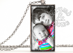 Crumb & Bone - Personalized Photo Pendant