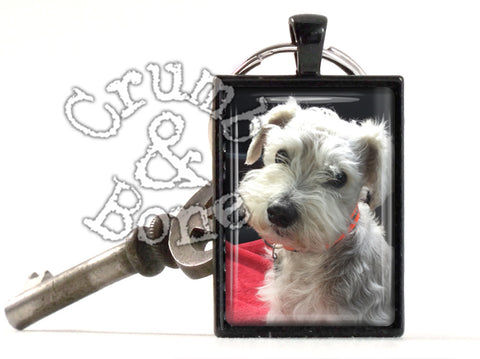 Dog Memorial Keychain in Black - Crumb & Bone