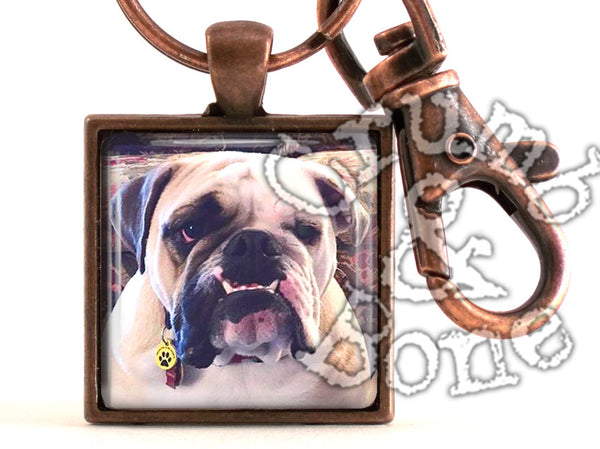 Dog Memorial Keychain - Crumb & Bone