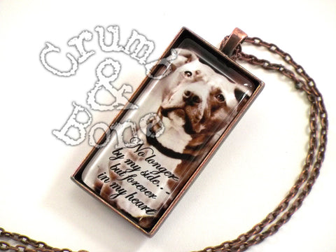 Dog Memorial Necklace - Crumb & Bone