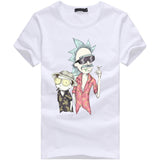 New Fashion Rick And Morty T-shirt Women/men Harajuku Tee Shirt Printed 3d Cartoon T Shirt Camisetas Funny Clothing Crop Tshirt - Frontrunner Comics