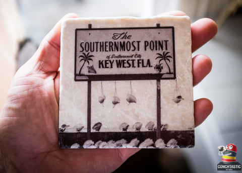 Key West Coaster - Southernmost Point 1970