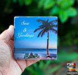 Key West Coaster - Seas and Greetings
