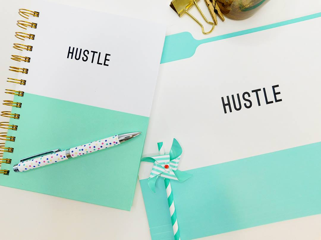 HUSTLE FILE FOLDER SET