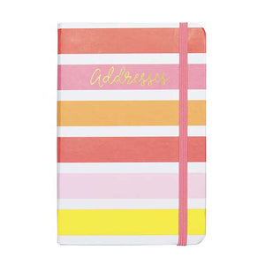 Bright and Lively Address book - Tulle and Twig