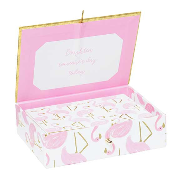 FLAMINGO BOXED THANK YOU CARD SET - Tulle and Twig