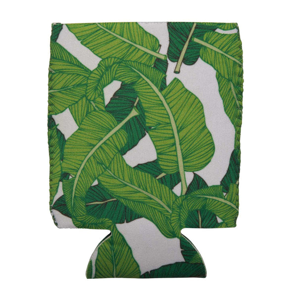 palm tree hugger can koozie