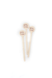Gobble til you Wobble - Thanksgiving Drink Stirrers