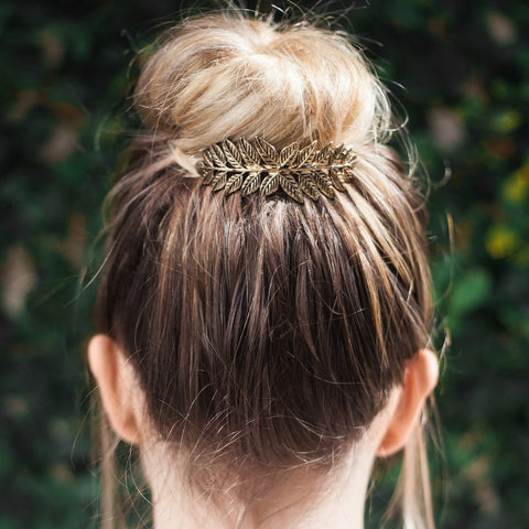 Leaf Bun Pin - Tulle and Twig