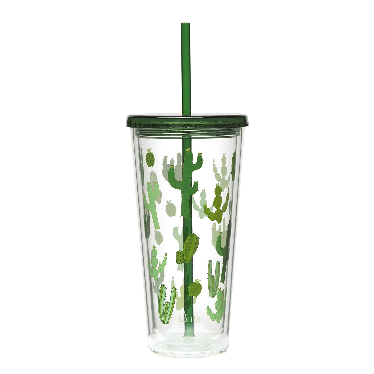 Cactus Print Tumbler - Tulle and Twig