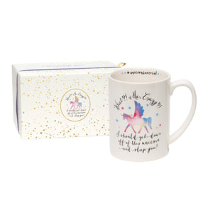 Unicorn Hidden Message Coffee Mug - Tulle and Twig