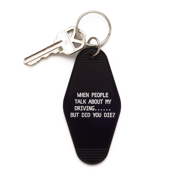 Snarky Vintage Hotel Keychains - Tulle and Twig