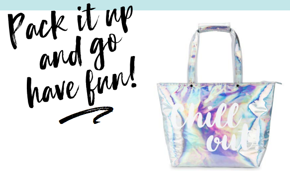 Chill Out Iridescent Insulated tote - Tulle and Twig