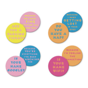 Funny Pickup Lines Coasters - Tulle and Twig